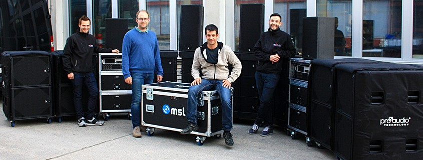 MSL Eventtechnik trusts in the VT20 Line Array