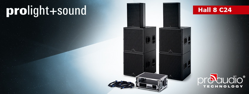 Meet ProAudio Technology in Frankfurt