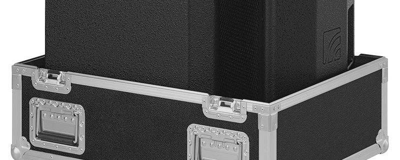 Case for 2 x M20 loudspeakers