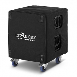 Protective cover for 1 x SW18 subwoofer and 1 x DOL1-SW18