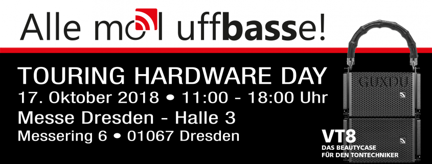 Touring Hardware Day Dresden