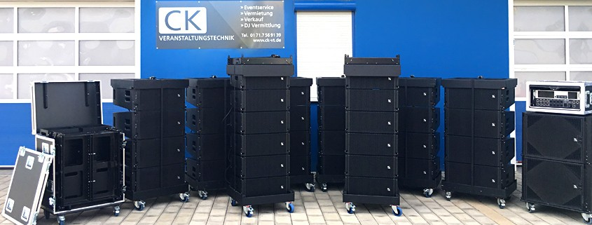 CK setzt auf ProAudio Technology