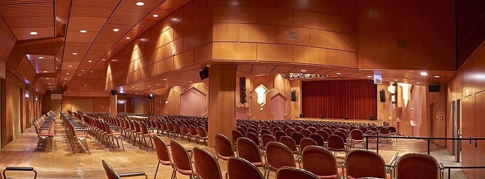 Bürgerzentrum Bruchsal beschallt mit ProAudio Technology